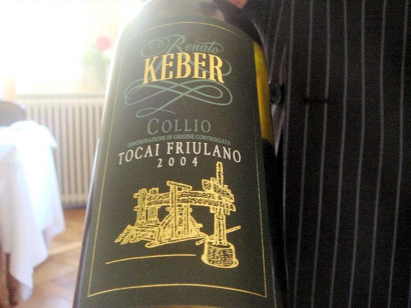 Tocai Friulano Collio Collio Keber 2004 Tocai