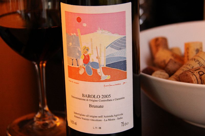 Barolo Brunate 2005 il Brunate 2005 di Roberto