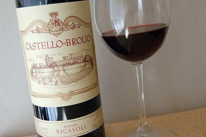 castello di Brolio wine